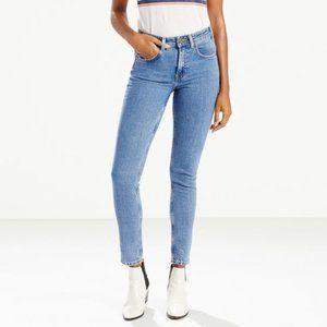 Levi's 721 Vintage High Rise Skinny Jeans Size 28
